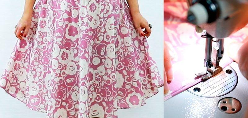 Как и где записаться на курс (образование) пошива юбки своими руками