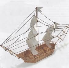 как сделать кораблик
