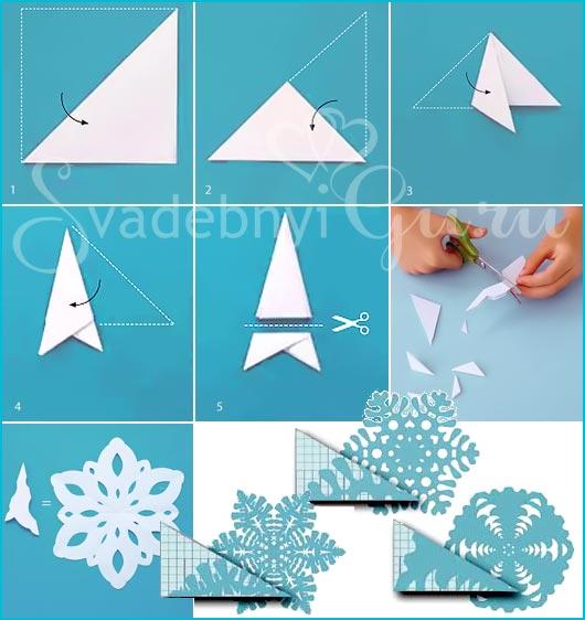 Что сделать из бумаги в новый год